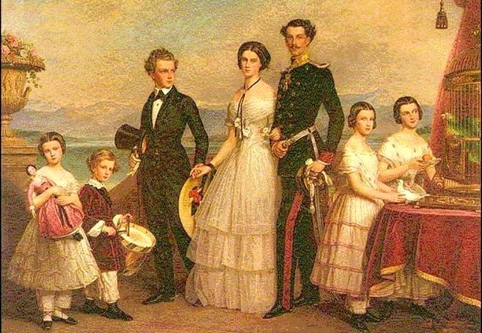 Семья австрийского императора Франца Иосифа