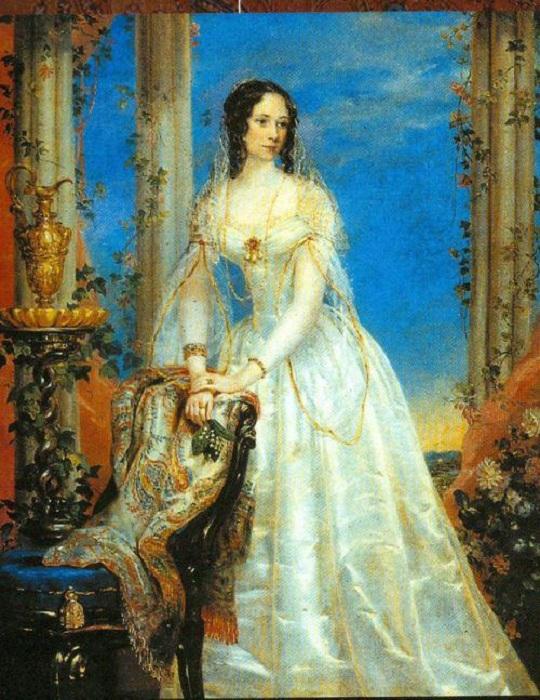 Портрет княгини Зинаиды Юсуповой.