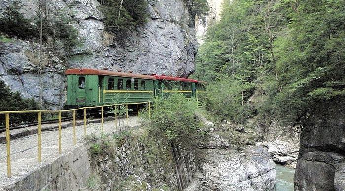 Гуамское ущелье, Краснодарский край.