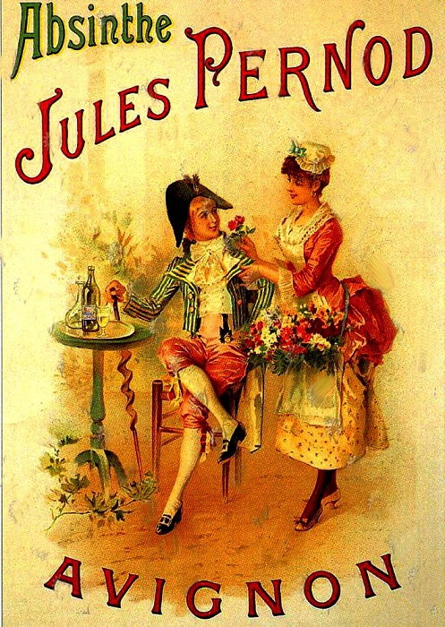 Авиньонский абсент, 1907 год. | Фото: allday.com.