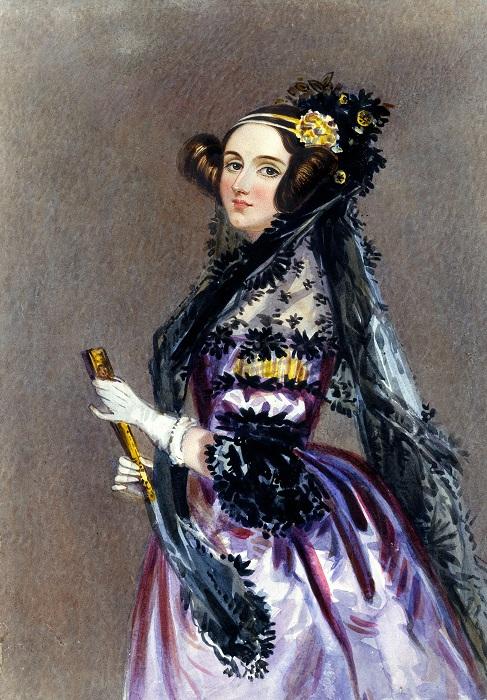 Ада Лавлейс - первая женщина-программист.
