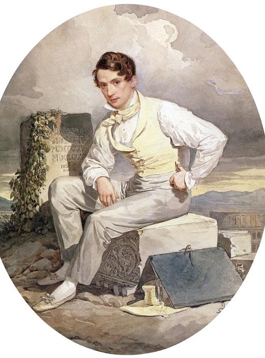 Автопортрет, 1830 г.| Фото: liveinternet.ru.