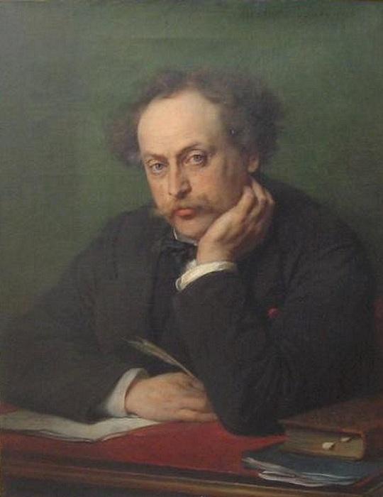 Александр Дюма - великий французский писатель.