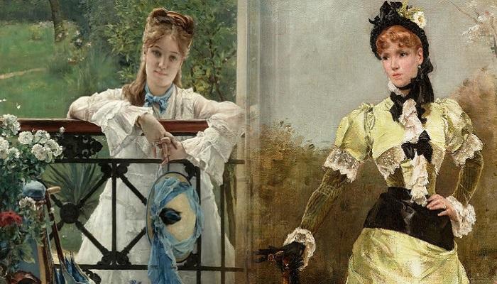 Жанровая живопись Альфреда Стевенса. | Фото: fiveminutehistory.com.