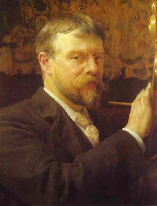 Автопортрет. Лоуренс Альма-Тадема, 1896 год. | Фото: ru.wikipedia.org.