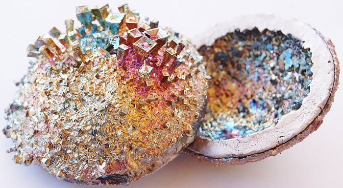 Минерал Bismuth.