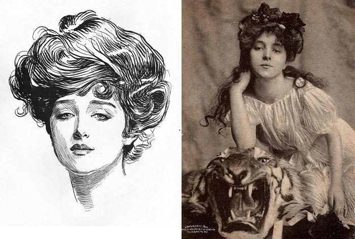 Девушка Гибсона - собирательный образ идеальной женской красоты.