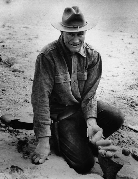 Рой Чэпмен Эндрюс - американский палеонтолог, искатель приключений.   Фото: vision.ipromix.de.