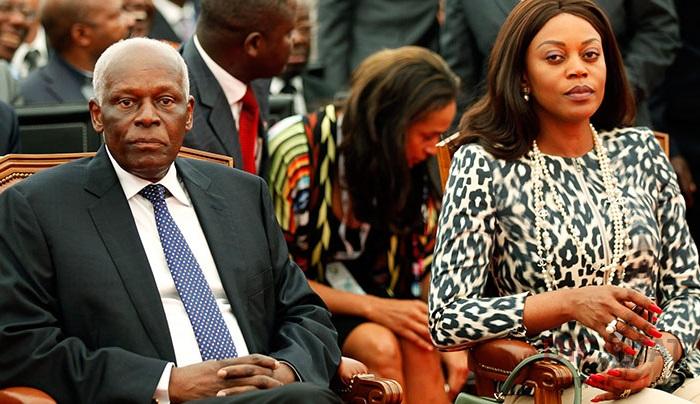 Президент Анголы Жозе Эдуарду и его жена Ана Паула душ Сантуш. | Фото: dictat.net.