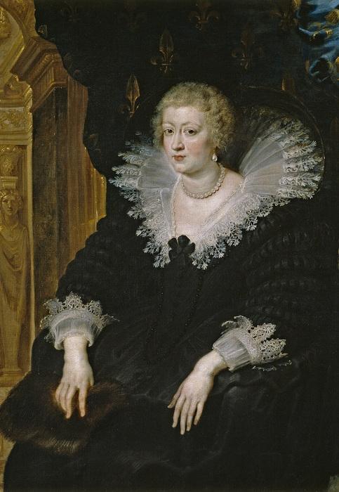Королева Анна Австрийская. Питер Пауль Рубенс, 1622 год. | Фото: ru.wikipedia.org.
