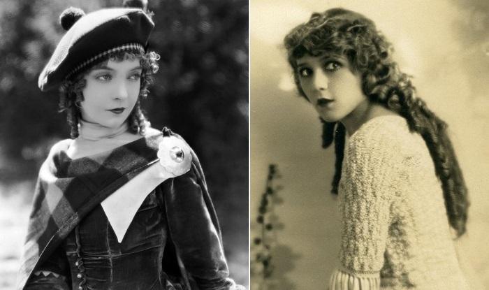 Актрисы немого кино Лиллиан Гиш и Мэри Пикфорд.