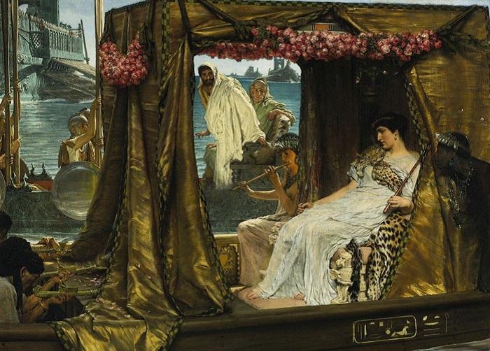Антоний и Клеопатра. 1883 год. | Фото: liveinternet.ru.