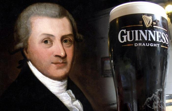 Ирландский пивовар Артур Гиннесс (Arthur Guinness). | Фото: cyprusbeermaniacs.com.