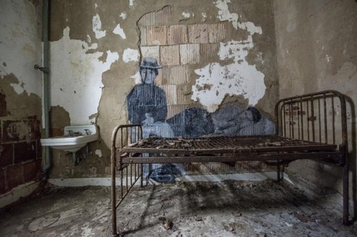 """Нью-йоркская больница - """"Ellis Island."""