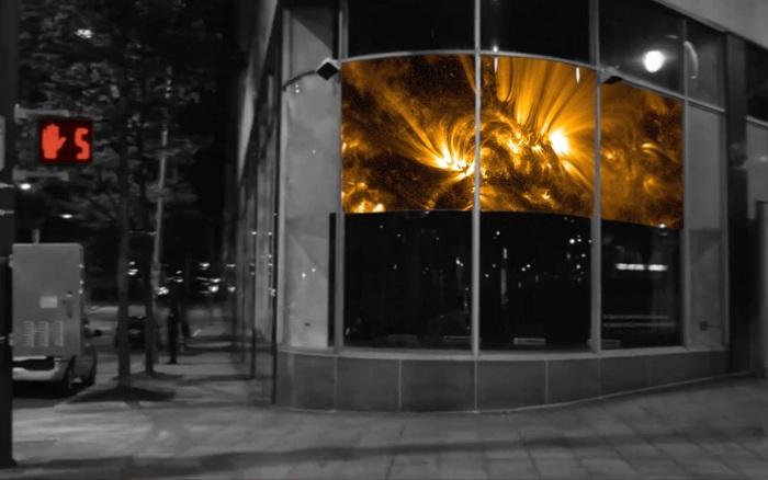 Передвижная выставка Nasa's Solarium