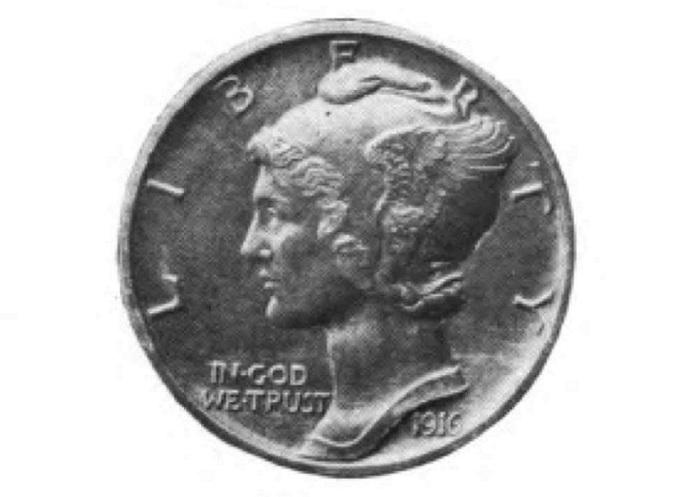 Профиль Одри Мэнсон, отчеканенный на монете. | Фото: file2.answcdn.com.