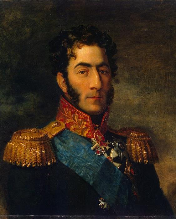 Портрет П. И. Багратиона. Джордж Доу. | Фото: ru.wikipedia.org.