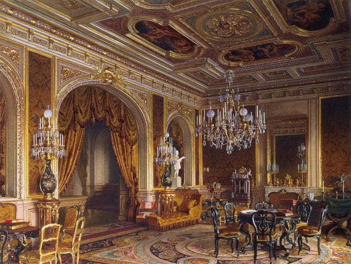 Главный кабинет, 1869 год. | Фото: fiveminutehistory.com.