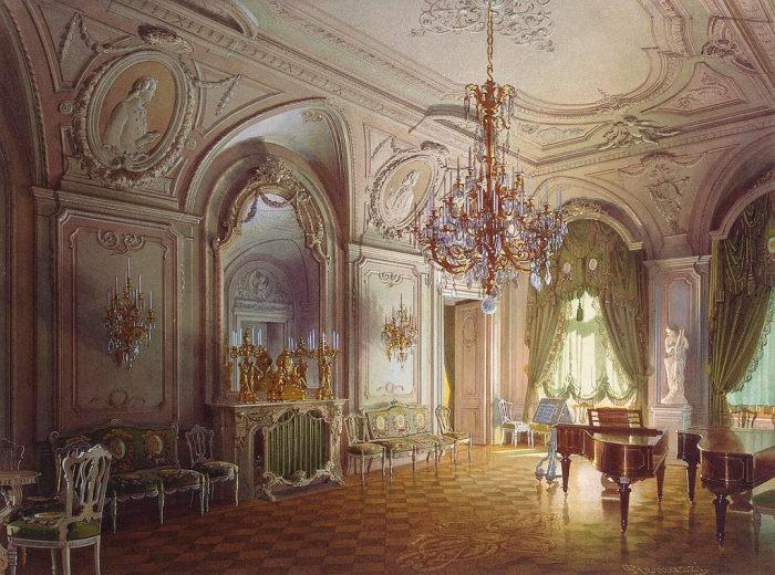 Концертный холл, 1870 год. | Фото: fiveminutehistory.com.
