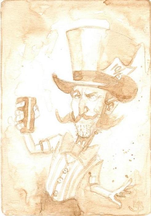 «Пивные» портреты от художника Kyle Bice.