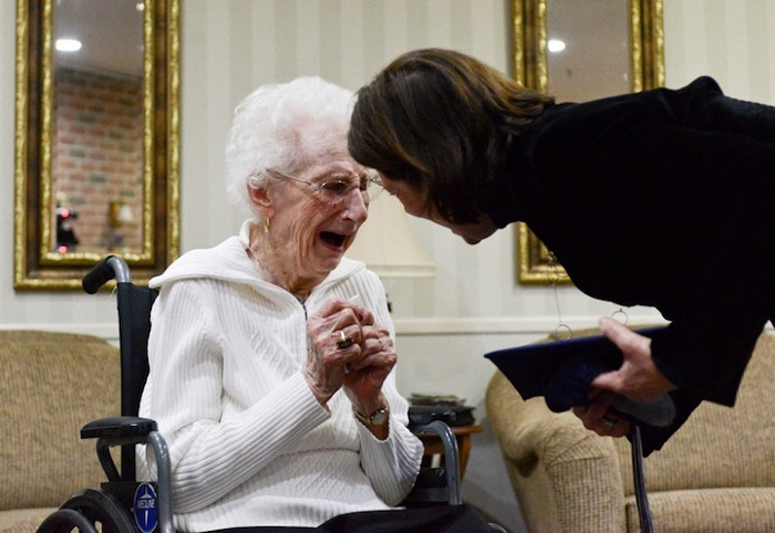 Margaret Thome Bekema получила диплом в 97 лет.