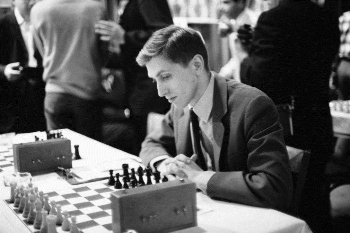 Американский шахматист Бобби Фишер (Bobby Fischer).   Фото: kulturologia.ru.