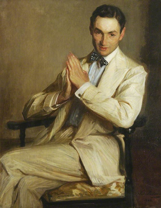 Портрет Гарри Мелвилла, 1904 год. | Фото: sociallearningcommunity.com.