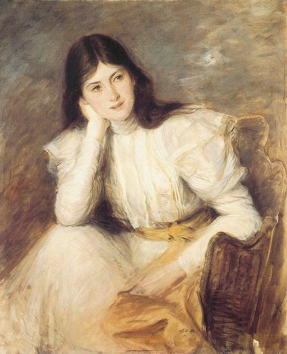 Портрет леди Берты Капель, 1897. | Фото: sociallearningcommunity.com.