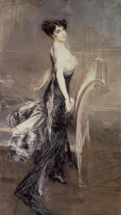 Портрет леди. Джованни Болдини, 1912 год.| Фото: subscribe.ru.