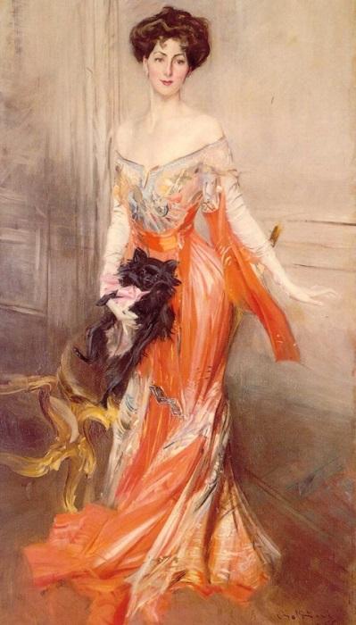 Портрет Элизабет Уортон Дрексель. Джованни Болдини, 1905 год. | Фото: subscribe.ru.