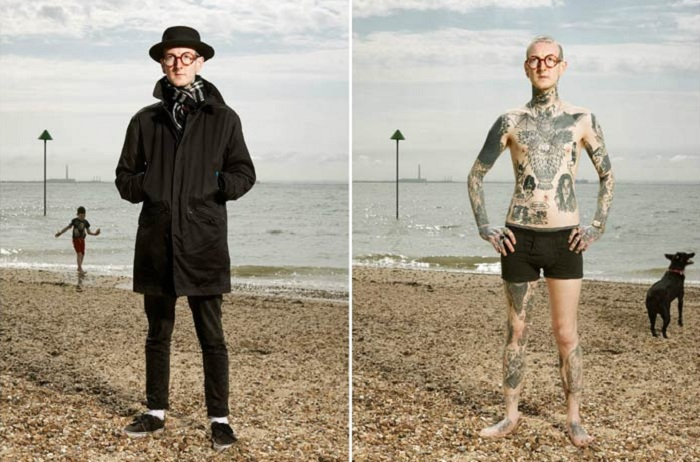 «Covered» - фотоцикл о том, что скрывает одежда.
