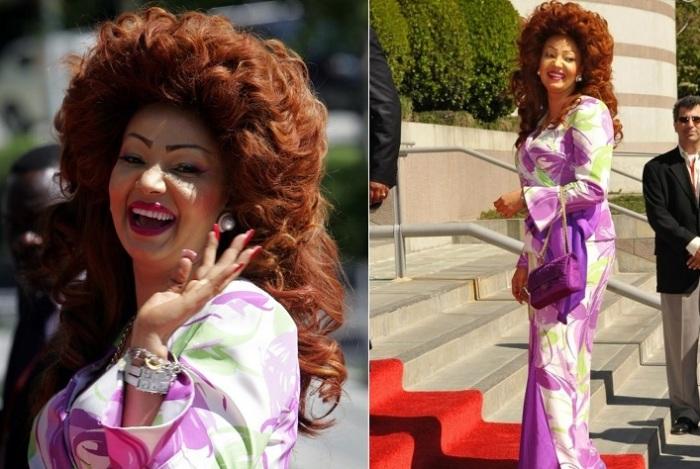 Шанталь Бийя - первая леди Камеруна. | Фото: tatyana-ayupova.ru.