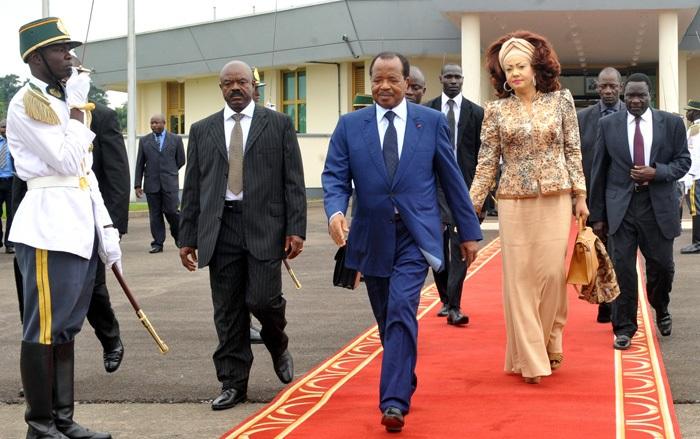 Разница в возрасте президента Камеруна и его жены - 42 года. | Фото: afrik53.com.
