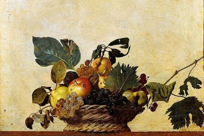 Корзина с фруктами. Караваджо, ок. 1596 г.| Фото: s11.stc.all.kpcdn.net.