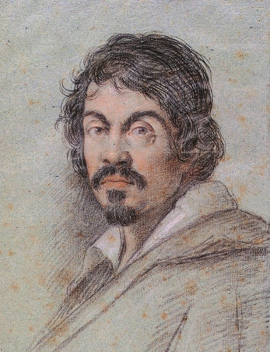 Портрет Караваджо работы Оттавио Леони,  ок. 1621 г. | Фото: img-fotki.yandex.ru.
