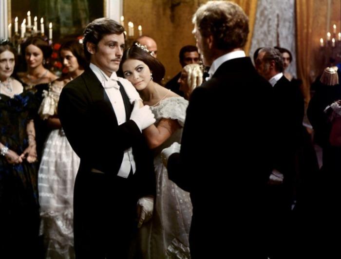 Клаудия Кардинале и Ален Делон на съемках фильма «Леопард», 1963 год. | Фото: liveinternet.ru.