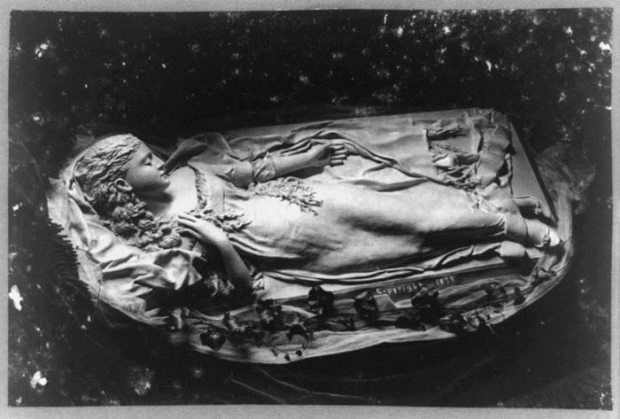 A The awakening of Iolanthe, Caroline S. Brooks, 1878.