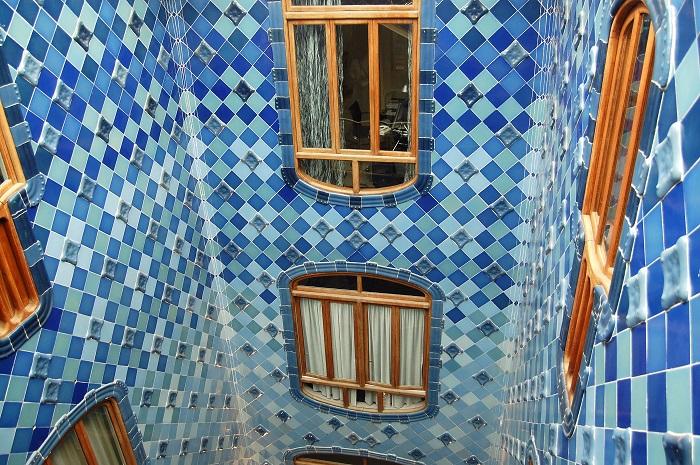 Дом Бальо. Внутренний двор. | Фото: ru.wikipedia.org.