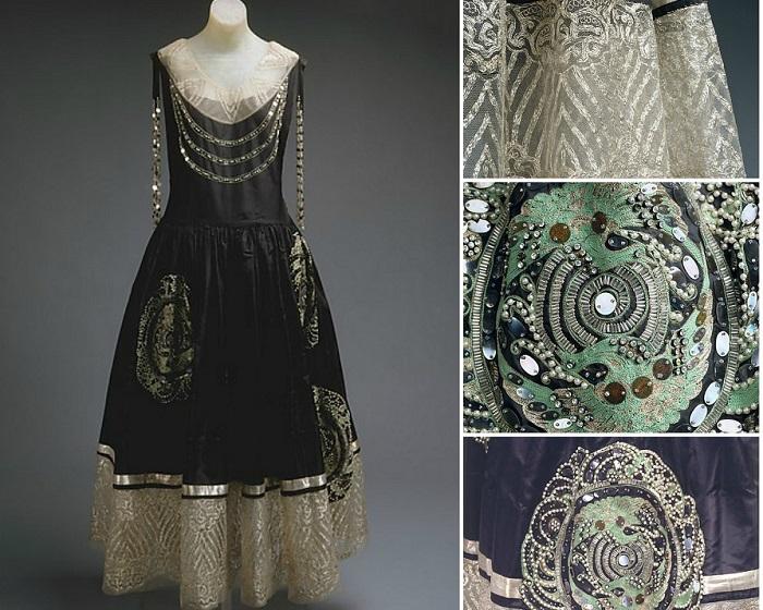 Платье с типичной вышивкой, 1924 год. | Фото: fiveminutehistory.com.