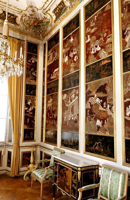 Кабинет в стиле шинуазри. Дворец Нимфенбург, Мюнхен, Германия. | Фото: fiveminutehistory.com.