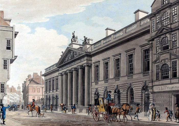 Дом Ост-Индской (Британской) компании. | Фото: fiveminutehistory.com.