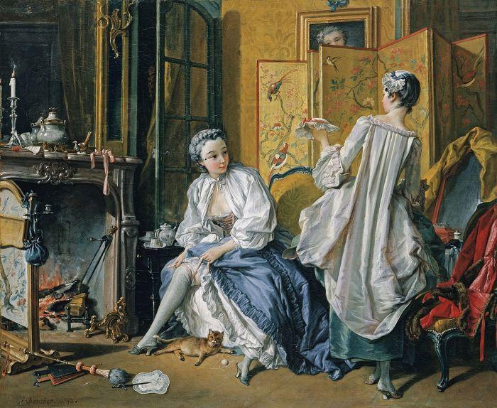 Туалет Венеры. Ф. Буше, 1742 год. | Фото: fiveminutehistory.com.