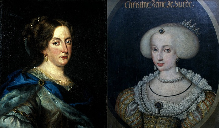 Кристина Шведская - королева Швеции с 1632 по 1654 гг.