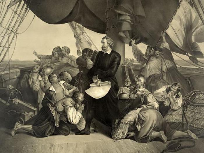 Случайное открытие Америки Колумбом.