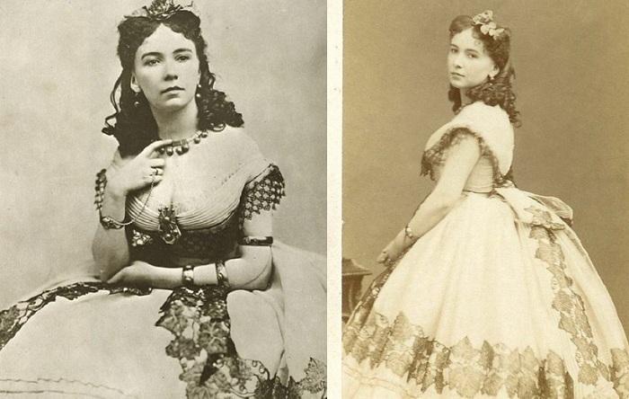 Кора Перл - блистательная куртизанка середины XIX века.