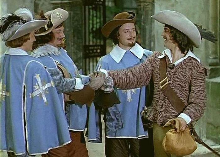 Кадр из к/ф «Д'Артаньян и три мушкетёра». Реж. Г. Э. Юнгвальд-Хилькевич (1978). | Фото: bigpicture.ru.