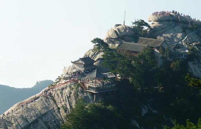 Храмы на горе Хуашань (Китай).