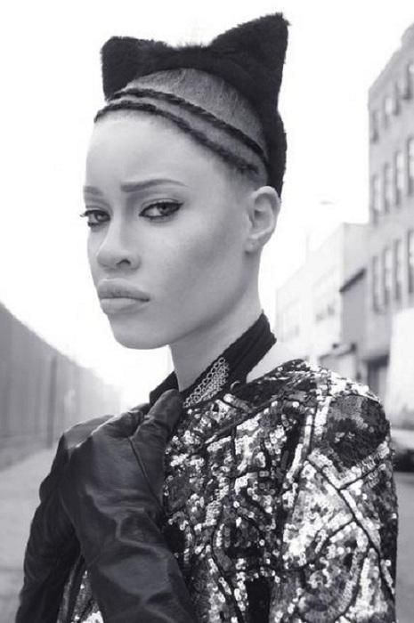 Диандра Форрест - модель с «уникальной» красоты. | Фото: viola.bz.