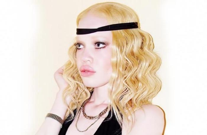 Diandra Forrest - девушка-альбинос.| Фото: kibika.com.