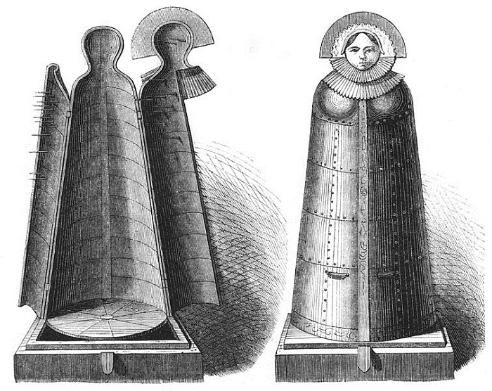 Верхушку каждого железного саркофага венчал лик Девы Марии. | Фото: commons.wikimedia.org.